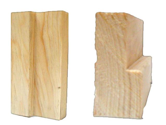 Marco de madera para puerta puvesa puertas - Marcos de puertas de madera ...
