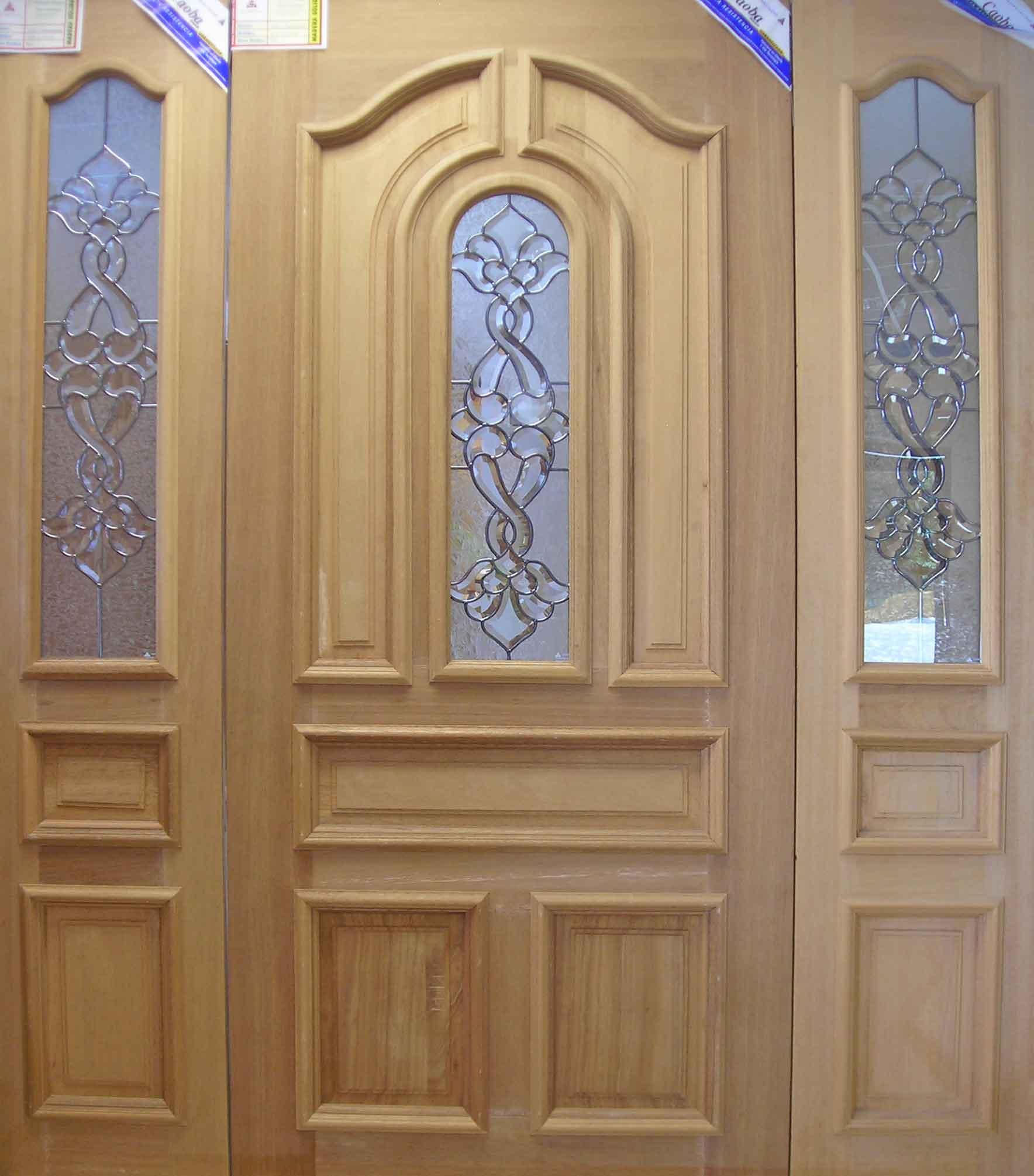 Puertas principales modelo oval puertas principales for Modelos de puertas principales